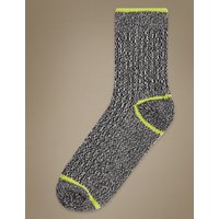 M&S Collection Heavyweight Ankle High Boot Socks