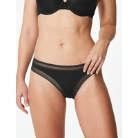 M&S Collection Lace Trim Bikini Knickers