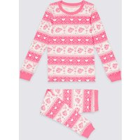 Cotton Blend Peppa Pig Thermal Set (18 Months - 7 Years)
