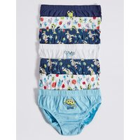 Pure Cotton Disney Characters Briefs (18 Months - 8 Years)