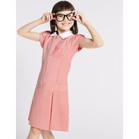 Gingham Pleated Dress (2-14 Years)