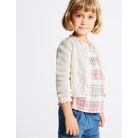 Cotton Rich Chunky Knit Cardigan (3 Months - 5 Years)