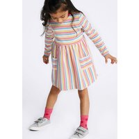 Pure Cotton Dress (3 Months - 7 Years) at Marks and Spencer Online
