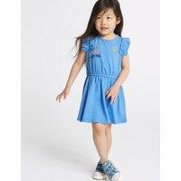Cotton Rich Jersey Dress (3 Months - 7 Years)