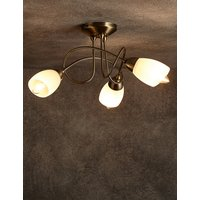 Andrea 3 Light Flush Lamp