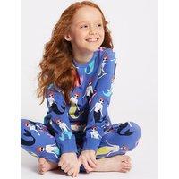 Mermaid Pyjamas with Stretch (3-16 Years)