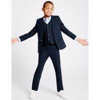 Linen Blend Trousers (3-14 Years)