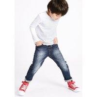 Cotton Pull On Lined Jeans with Stretch (3 Months - 5 Years)