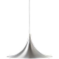 TRUMPET-kattovalaisin Alumiininvärinen