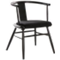 ABISKO-tuoli Musta