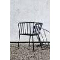 ANTIBES-tuoli, jossa käsinojat, 2/pakk. Musta