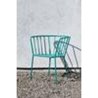 ANTIBES-tuoli, jossa käsinojat, 2/pakk. Vihreä