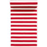 FRULI-puuvillamatto 70x150 cm Punainen/valkoinen