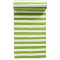 FRULI-puuvillamatto 70x150 cm Vihreä/valkoinen
