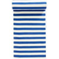 FRULI-puuvillamatto 70x150 cm Sininen/valkoinen