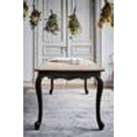 AGRA ruokapöytä 90x200 cm Musta/puunvärinen