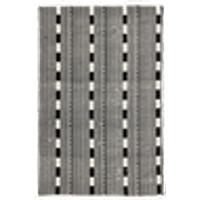 ATTIMIS-puuvillamatto, 200x300 cm Musta