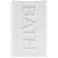 BATH kylpyhuonematto, 50x80 cm Valkoinen/hopeanvärinen
