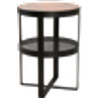 ANDORRA-pikkupöytä ø 50 cm Musta/roosa