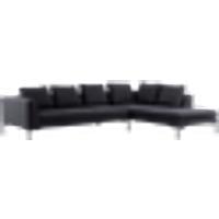 ALBA-sohva, 3:n istuttava - divaani oikea Antrasiitinharmaa