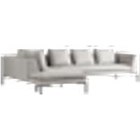 ALBA sohva, 3:n istuttava divaani vasen Harmaa