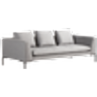 ALBA sohva, 3:n istuttava Harmaa