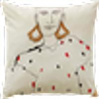 BIANCA tyynynpäällinen 60x60 cm Luonnonvalkoinen