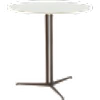 ABITA sivupöytä ø 70 cm Valkoinen