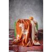 GUADALUPE vauvan peitto - ekologinen Oranssi