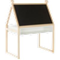 CADIZ lastenkirjoituspöytä 80x 50 cm Ljus furu