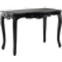PONTREMOLI kirjoituspöytä 160x60 cm Musta