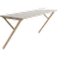 KULLABERG kirjoituspöytä/pöytä 40x120 cm Lipeäkäsitelty tammi