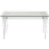 CHARLY sohvapöytä 50x85 cm Plexiglas