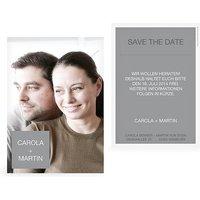 """Save-the-Date Karte """"Glückspost"""""""