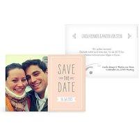 "Save-the-Date Karte ""Tandem"""