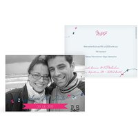 """Save-the-Date Karte """"Up in the Sky"""""""