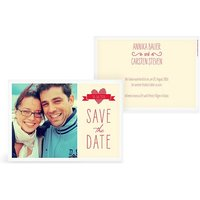 "Save-the-Date Karte ""Vichy Karo"""