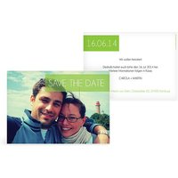 "Save-the-Date Karte ""Banderole"""