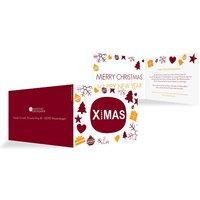 """Weihnachtskarten """"X-Elements"""""""