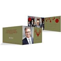"""Weihnachtskarten """"Kugelhirsch"""""""