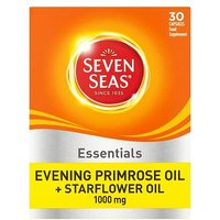 Seven Seas Evening Primrose Oil & Starflower Oil Capsules - 30 x 1000 mg