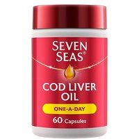 Seven Seas Simply Timeless Cod Liver Oil One-a-Day - 60 capsules