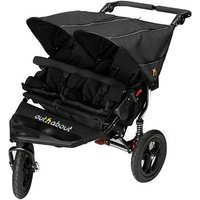 Out n About Nipper Double V4 Pushchair - Black