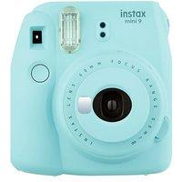 Fujifilm Instax mini 9 with 10 shots - Ice Blue