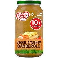 Cow & Gate Veggie & Turkey Casserole from 10m Onwards 250g