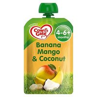 Cow & Gate Banana, Mango & Coconut from 4-6m Onwards 100g
