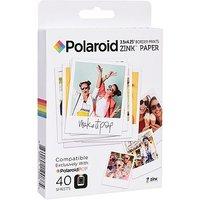 Polaroid Pop Zink 3x4 media 40 pack