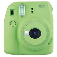 Instax mini 9 with 10 shots lime green