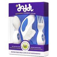 Doddl 3 piece cutlery set blue