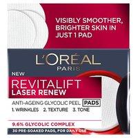 L'Oreal Paris Revitalift Laser Renew Anti Ageing Glycolic Peel Pads